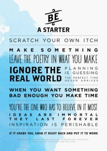 Be A Starter